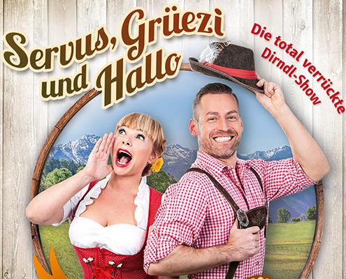 Servus, Grüezi & Hallo Motiv